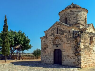 Cyprus kerk architectuur