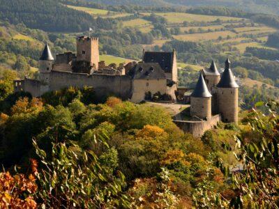 Reisgids Groothertogdom Luxemburg Kasteel Bourscheid