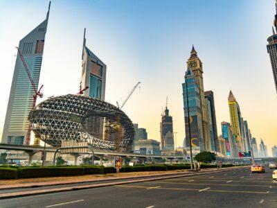 Sheikh Zayed Road Dubai United Arab Emirates